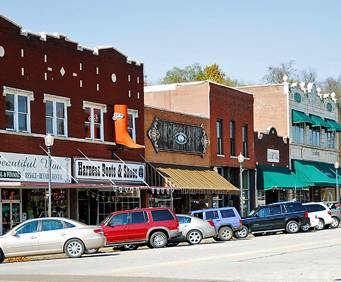 Historic Downtown Branson Mo