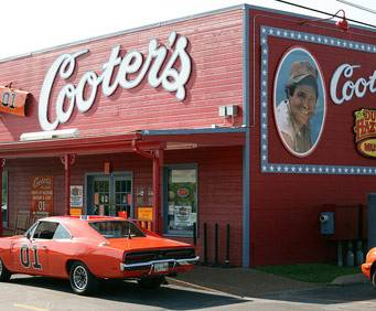 Cooter's Place Museum & General Store in Gatlinburg, TN
