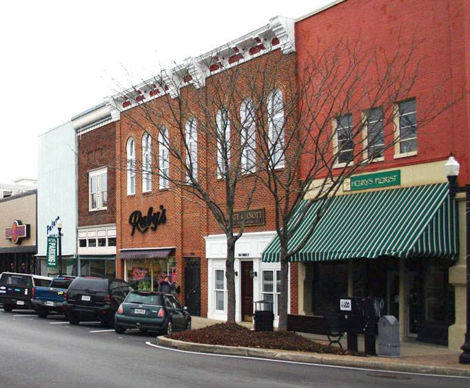 The Square in Murfreesboro, Tennessee