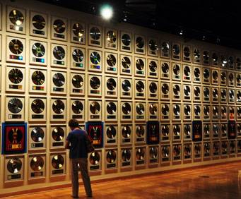 Country Music Hall of Fame in Nashville, TN, records