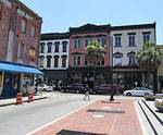 City Market in Savannah, GA