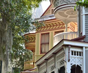 west victorian district savannah houses