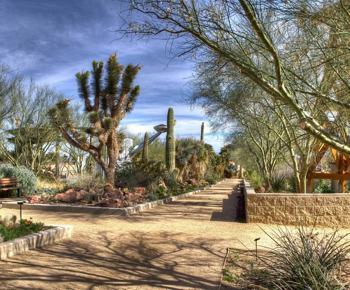 Ethel M Chocolate Factory And Botanical Cactus Garden In Las Vegas Nv