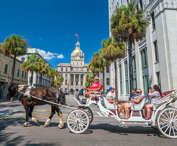 Savannah Tours Vacation Package