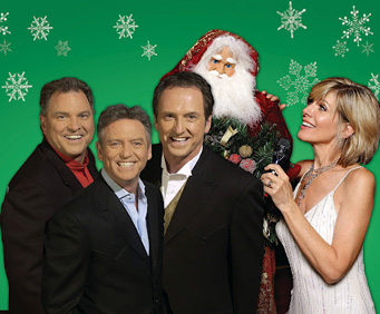 The Gatlin Brothers and Debby Boone Christmas Show Santa