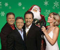 The Gatlin Brothers and Debby Boone Christmas Show, Santa