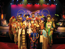 Brulé - A Native American Experience of Music & Dance, show