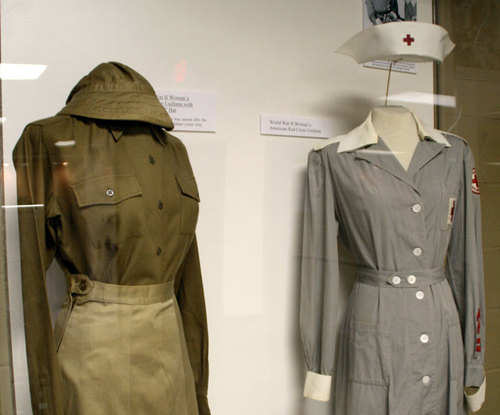 Branson Military Museum, uniform exhibit