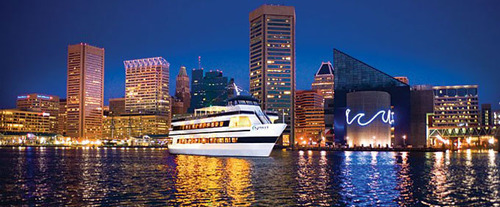 baltimore maryland attractions dinner lunch cruises