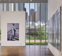 Artwork of Gerard Richter featured at the Art Institute of Chicago