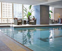 Trump International Hotel & Tower Chicago Indoor Swimming Pool