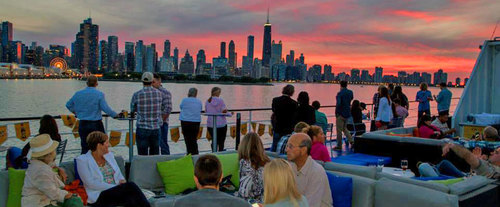 Spirit of Chicago Dinner Lounge Cruise - Sky Line