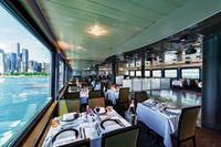 Enjoy Your 3-Course Plated Dinner on the Elegant Sapphire Deck