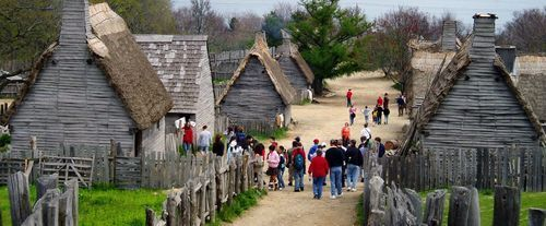 Plimoth Plantation & Mayflower II Tour, village