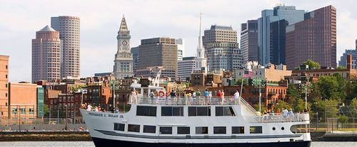 Boston Harbor Historic Sightseeing Cruise, ship