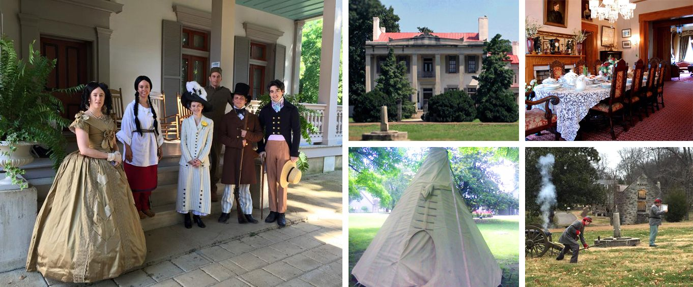 Various Activities and Sights at the Belle Meade Plantation Tour