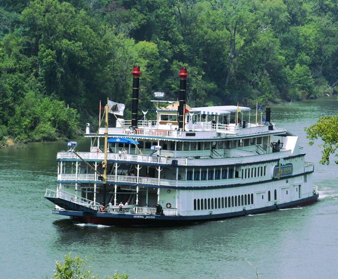 General Jackson Showboat Lunch Dinner Cruises