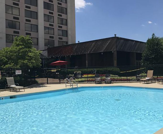 Outdoor Swimming Pool of Millennium Maxwell House Nashville