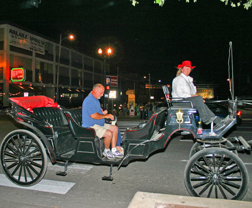 Private Downtown Nashville Carriage Tour night tour