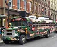 Guests Enjoy The Redneck Comedy Bus Tour