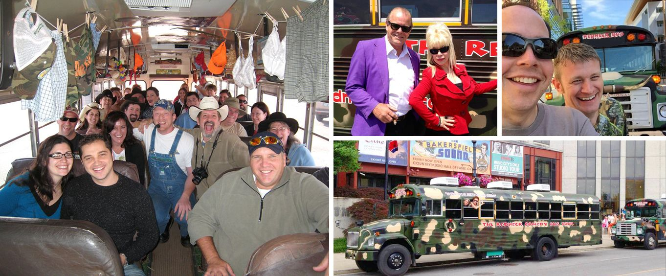 Experience the Redneck Comedy Bus Tour