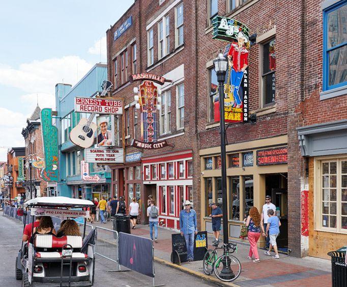 Downtown Nashville Music City Bus Tour