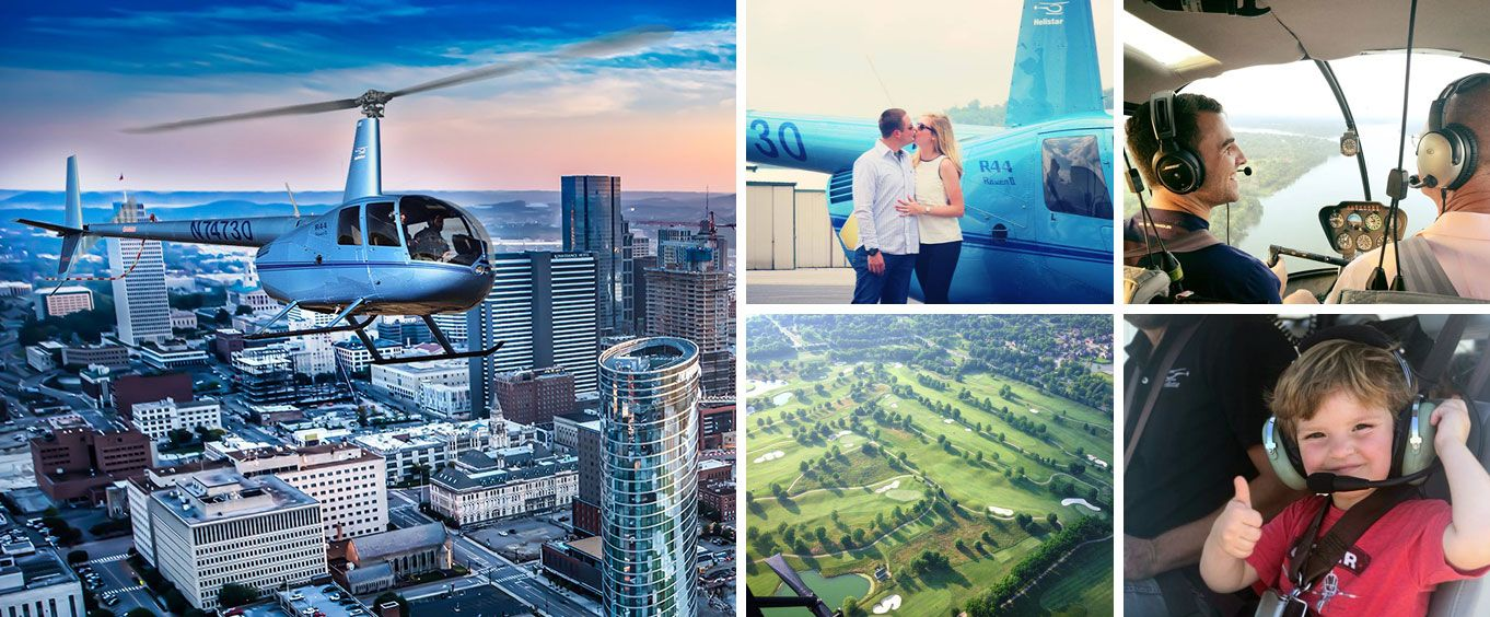 Nashville Helicopter Tours Collage