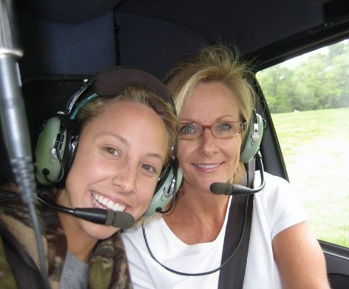 Family on the Nashville Helicopter Tours