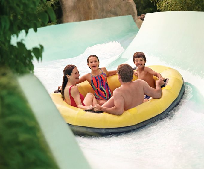 Raft Waterslide at Water Country USA