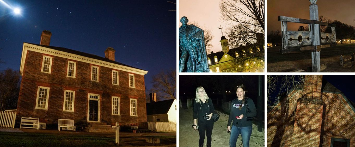 Creepy Sights at the Williamsburg Ghost Tour
