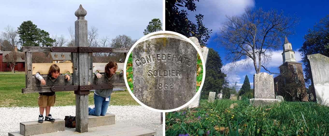 Have Fun at the Williamsburg Cemetery Tour