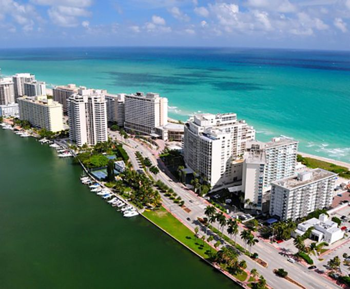 Hotels on the Beach with the Miami Sightseeing Tours from Orlando