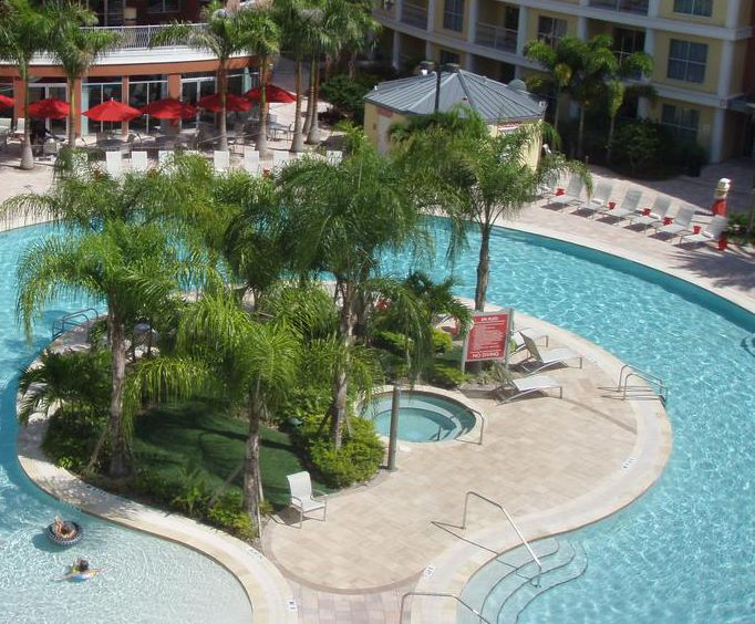 Outdoor Pool at Melia Orlando Suite Hotel at Celebration