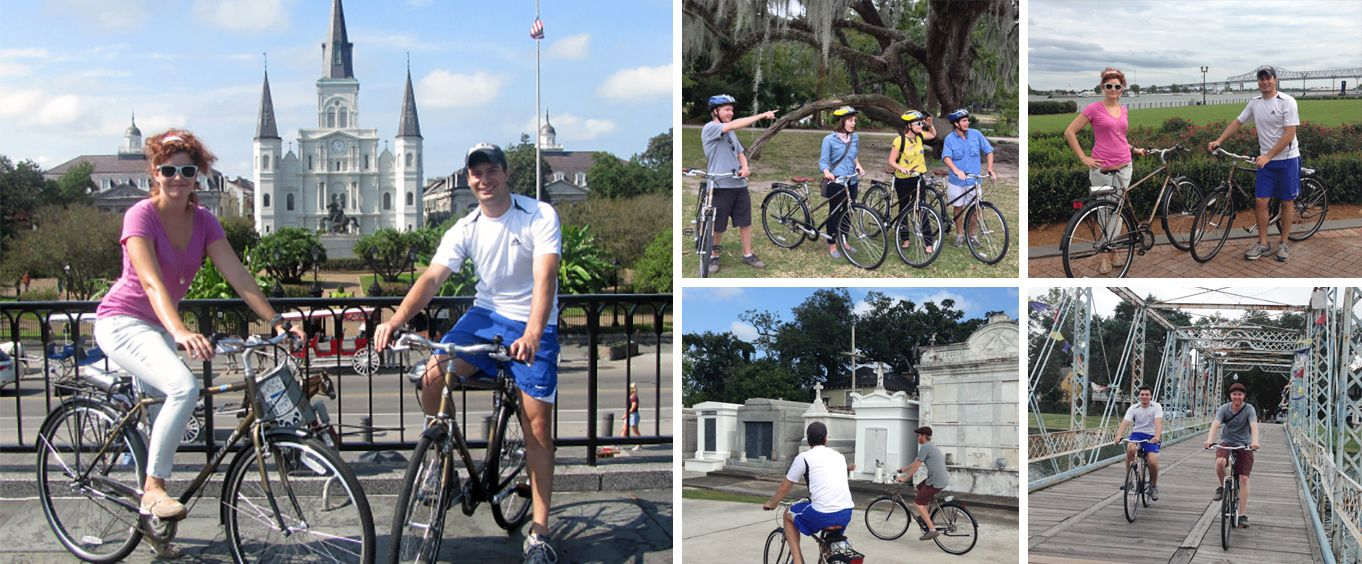 Have Fun on the New Orleans City Bike Tour