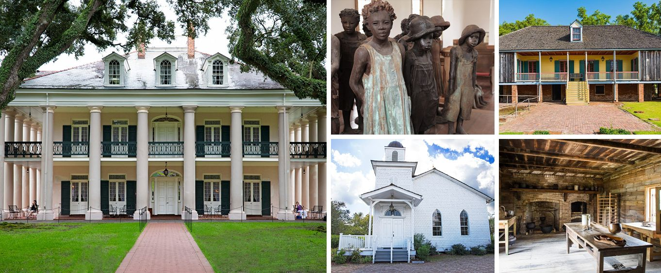 Explore on the Oak Alley and Laura Plantation Tour