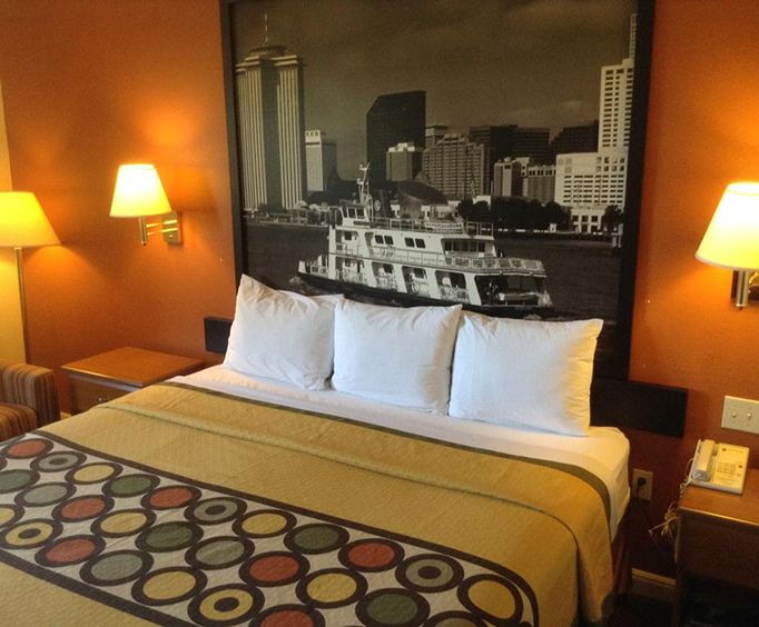 Room Photo for Super 8 New Orleans