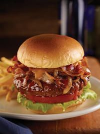 Hickory Barbeque Bacon Cheeseburger