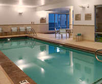 SpringHill Suites by Marriott Salt Lake City Draper Indoor Swimming Pool