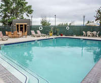Outdoor Pool at Comfort Inn Airport