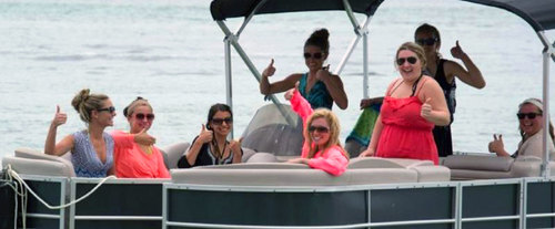 Pontoon Boat Rental in Destin Florida, family activity