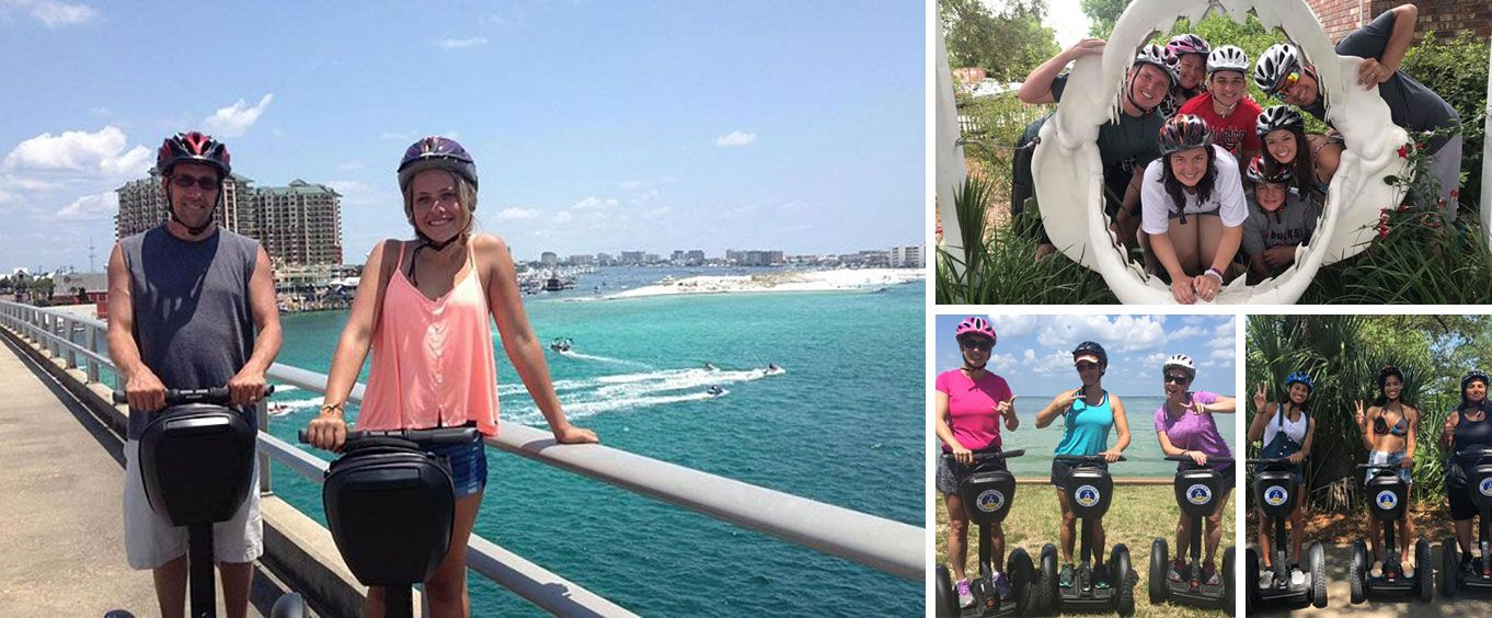 Explore with the Shore Thing Segway Tour