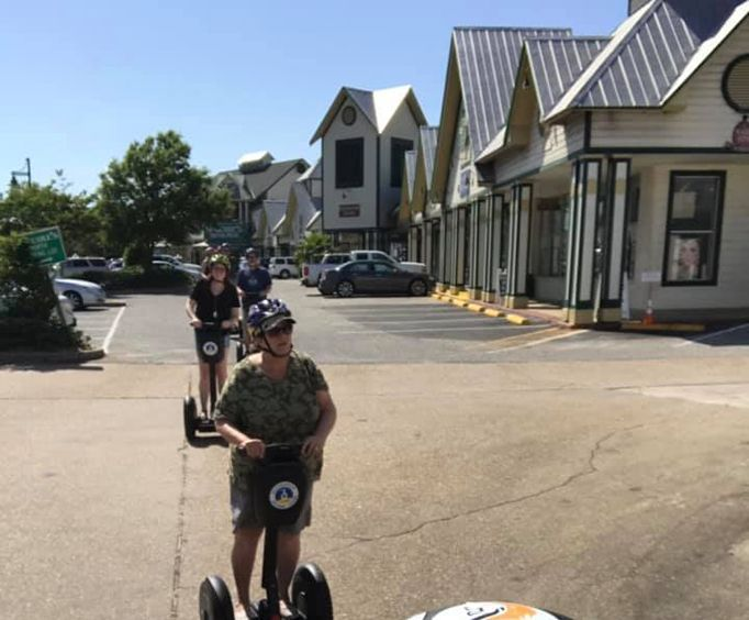 Exploring with the One Hour Destin Segway Tour