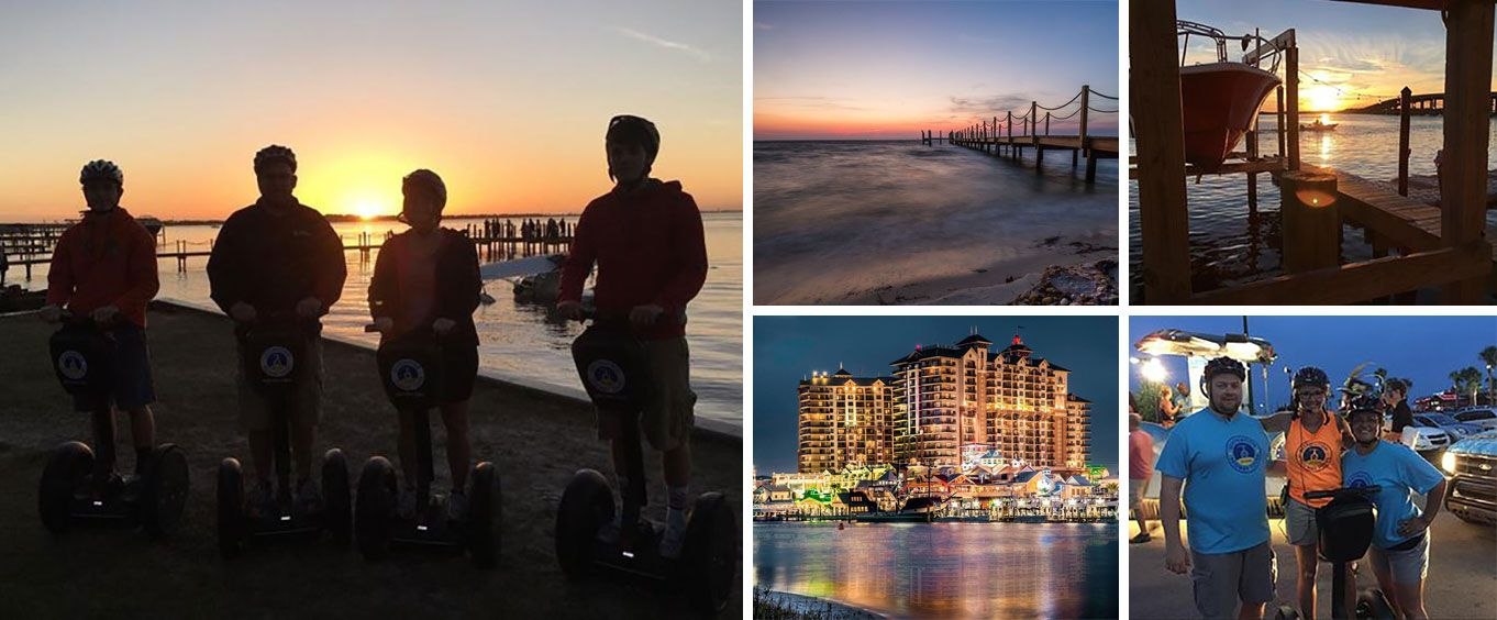 Have Fun on the Moonlight Glide Segway Tour in Destin