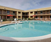Outdoor Pool at Quality Inn Biloxi