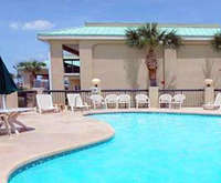 Outdoor Pool at Econo Lodge Inn & Suites Gulfport MS