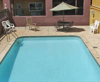 Outdoor Swimming Pool of Knights Inn Downtown Albuquerque