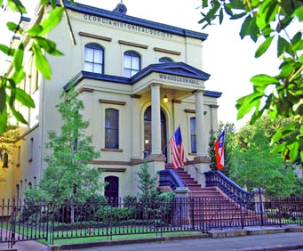 Saunter in Savannah Walking Tour, historical sites