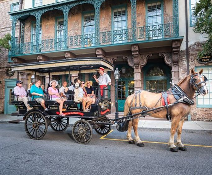 Charleston Carriage Tour of Antebellum Mansions, Churches and Gardens