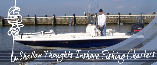 Shallow Thoughts Inshore Fishing Charters: Boat