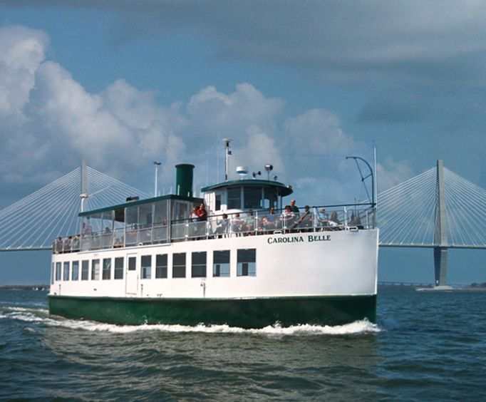 Carolina Belle with the Charleston Harbor Tour